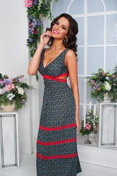 Новинка: длинное платье на лето Angela Ricci